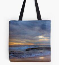 Stormy Sunrise at Turimetta beach Tote Bag