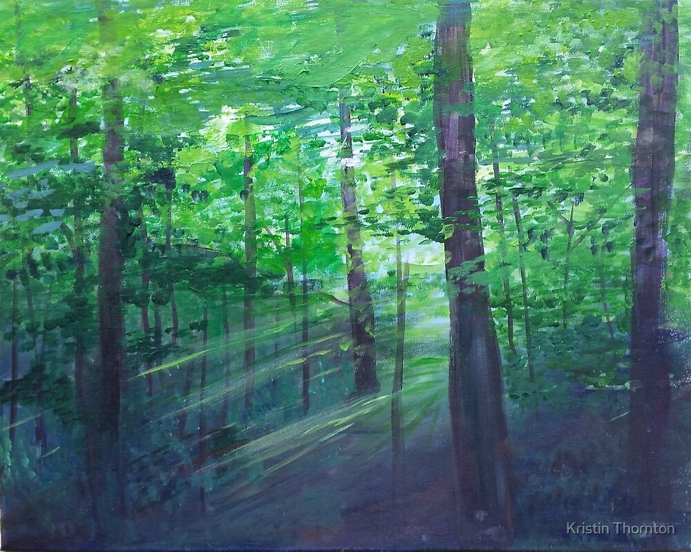 Peace in the Woods by Kristin Thornton