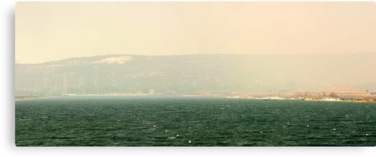 Bushfire Smoke Over Champion Lakes  by EOS20