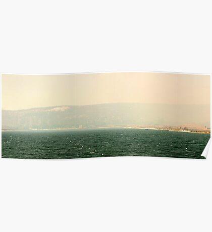 Bushfire Smoke Over Champion Lakes  Poster