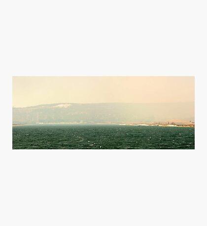 Bushfire Smoke Over Champion Lakes  Photographic Print