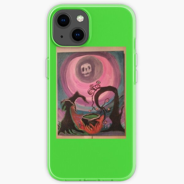 The witches ritual  iPhone Soft Case