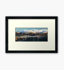 The Menai Bridge  Framed Print
