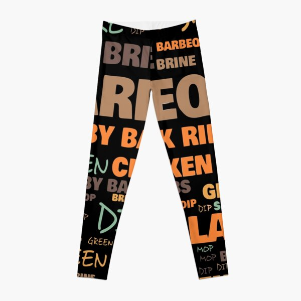Barbeque Terminology - Commonly Used Barbeque Terms Leggings
