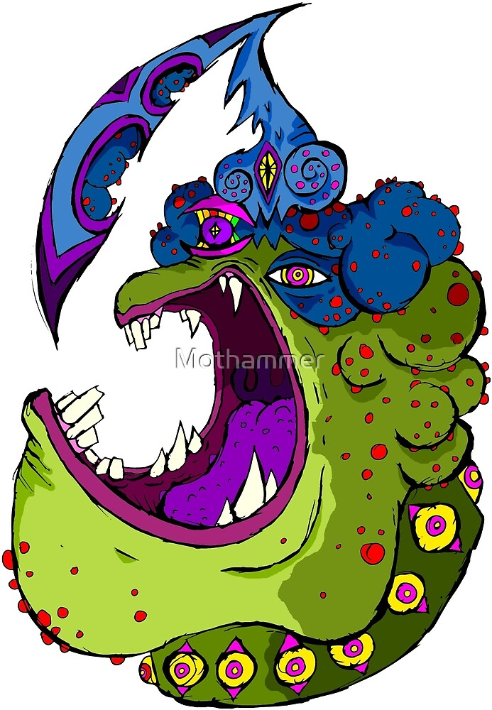 Frog Head by Mothammer