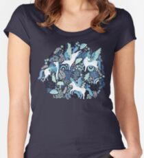 Pegasi Blues  Fitted Scoop T-Shirt
