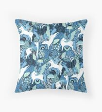 Pegasi Blues  Throw Pillow