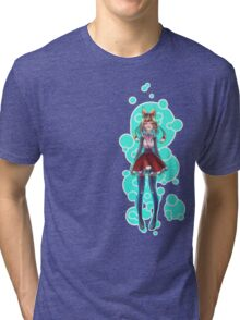 Bubbles and Hearts Tri-blend T-Shirt