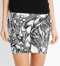 Doodle 1- Life Mini Skirt