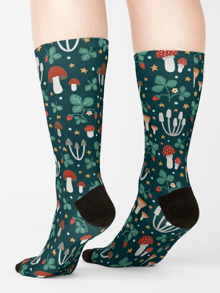 Alternate view of Magic forest Socks