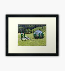 X Files is here Framed Print