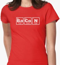 Bacon - Periodic Table Women's Fitted T-Shirt