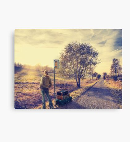 Time To Move On.... Canvas Print