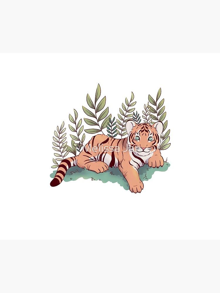 Tiger Cub by adelaydeart