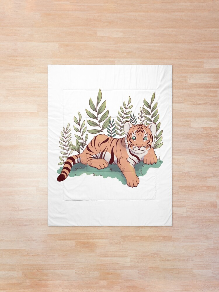 Alternate view of Tiger Cub Comforter