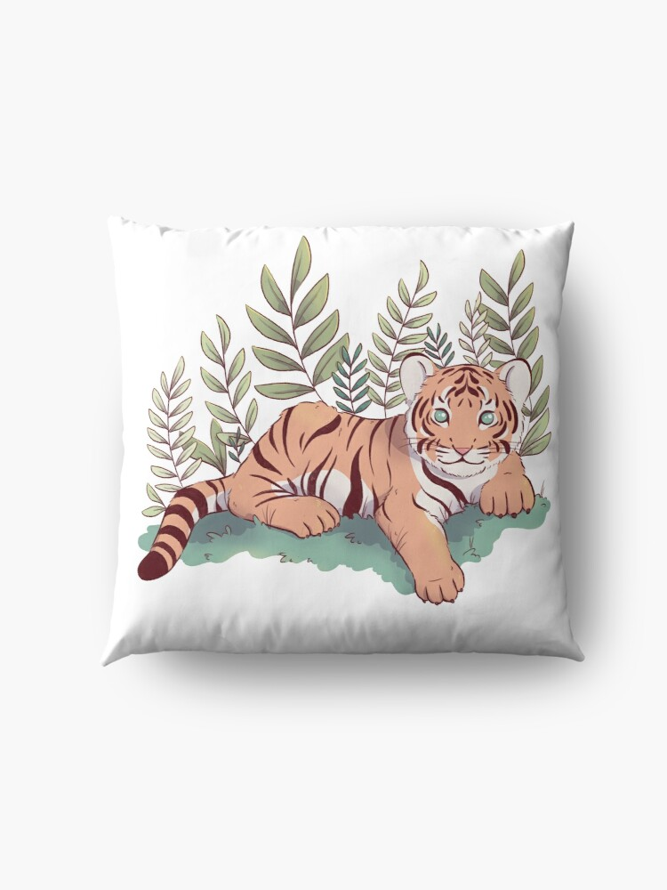 Alternate view of Tiger Cub Floor Pillow