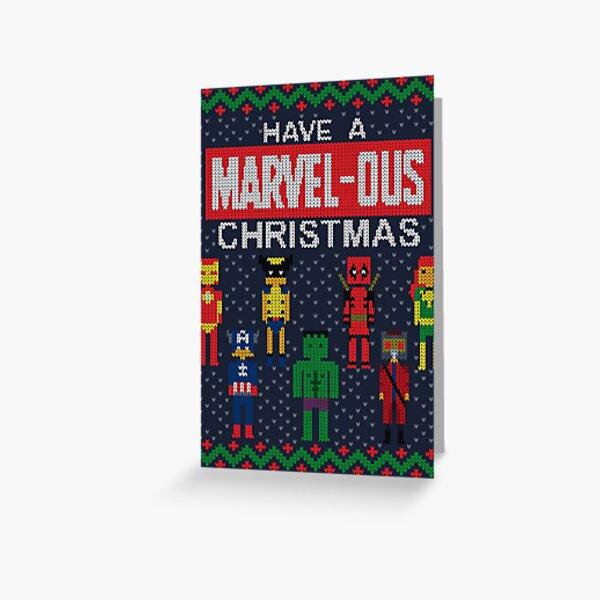 Marvelous Christmas Greeting Card
