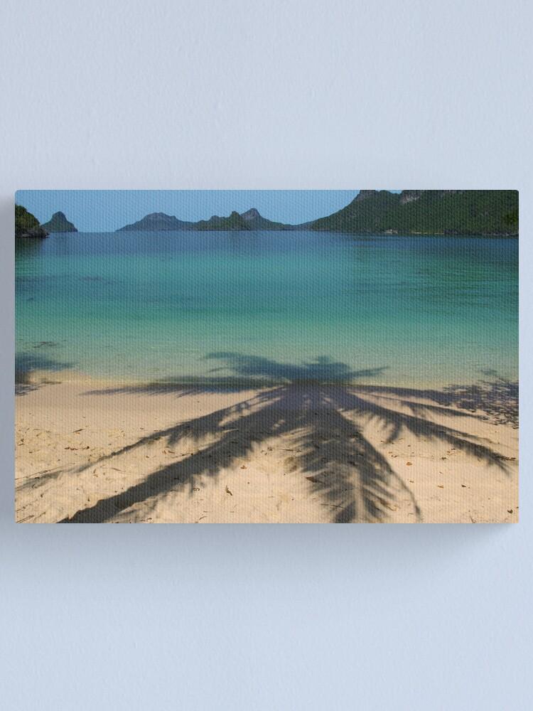 Alternate view of Not a dream - Somewhere off Ko Samui Thailand Canvas Print