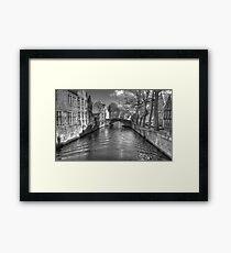 Gothic Bruges Framed Print