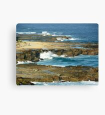 Bar Beach, NSW, Australia Canvas Print