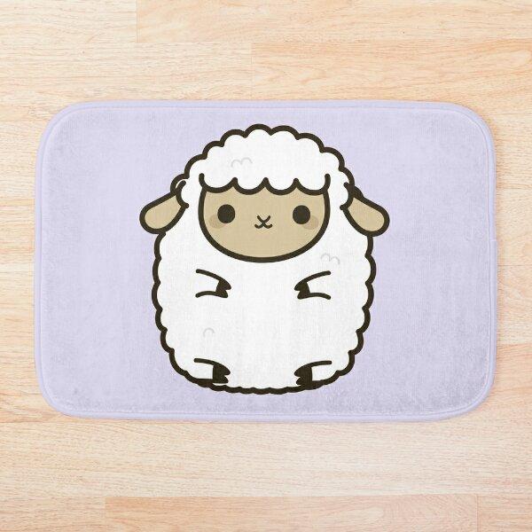 Cute Lamb Bath Mat