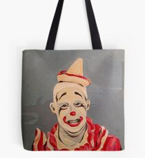Pickles the Clown - Circus Painting Tote Bag