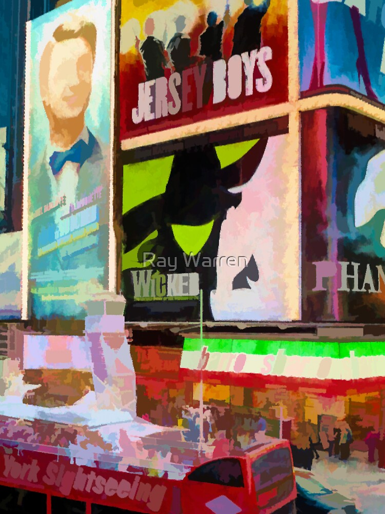 Times Square II (pastel paint style) by RayW