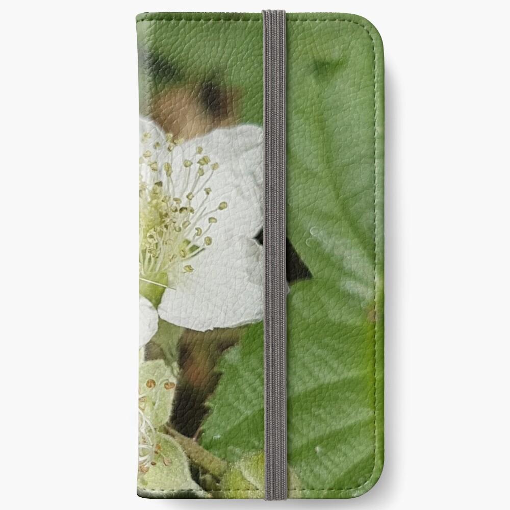 Bramble Blossom iPhone Wallet
