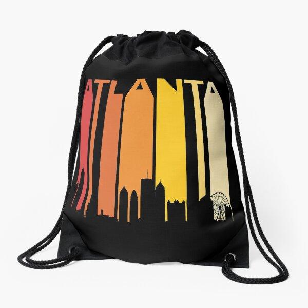Seattle City Skyline Logo Cool Drawstring Backpack String Bag