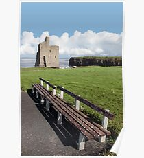 ballybunion castle view Poster