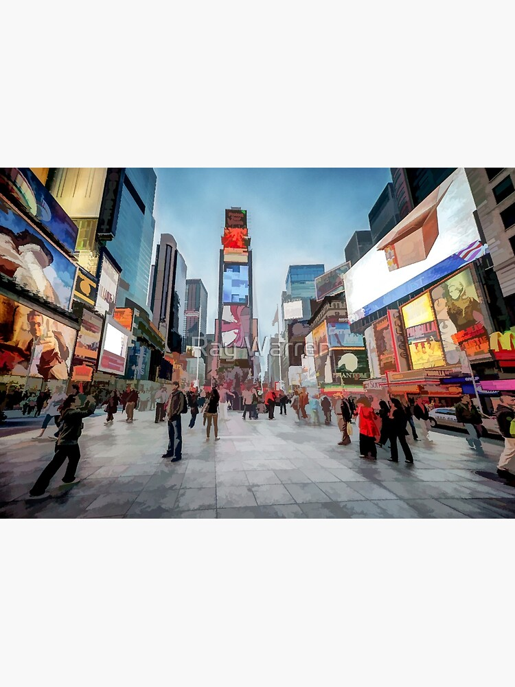 Times Square Sparkle (light pastel) by RayW