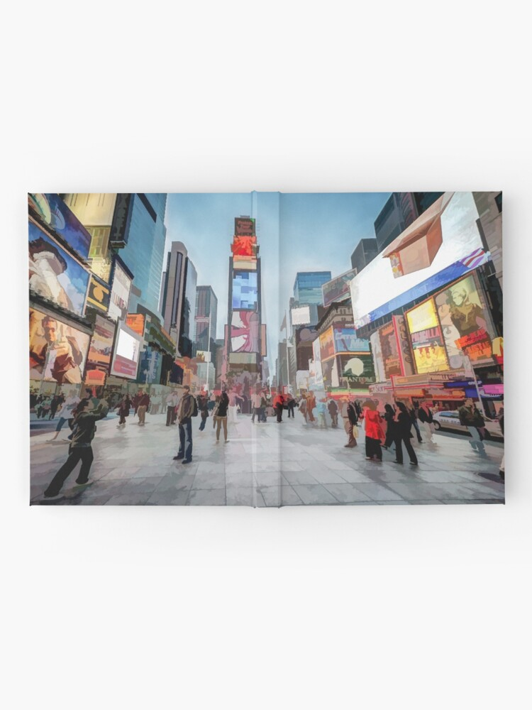 Alternate view of Times Square Sparkle (light pastel) Hardcover Journal