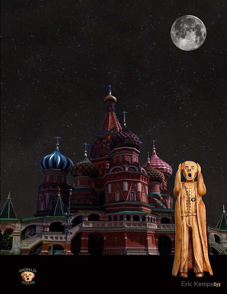 The Scream World Tour Moscow by Eric Kempson