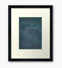 Andy Warhol. Framed Print