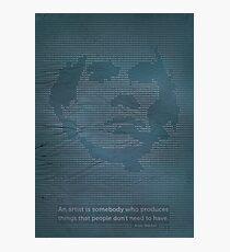Andy Warhol. Photographic Print