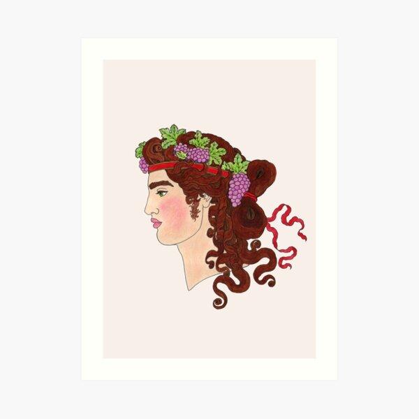 Dionysus  Art Print