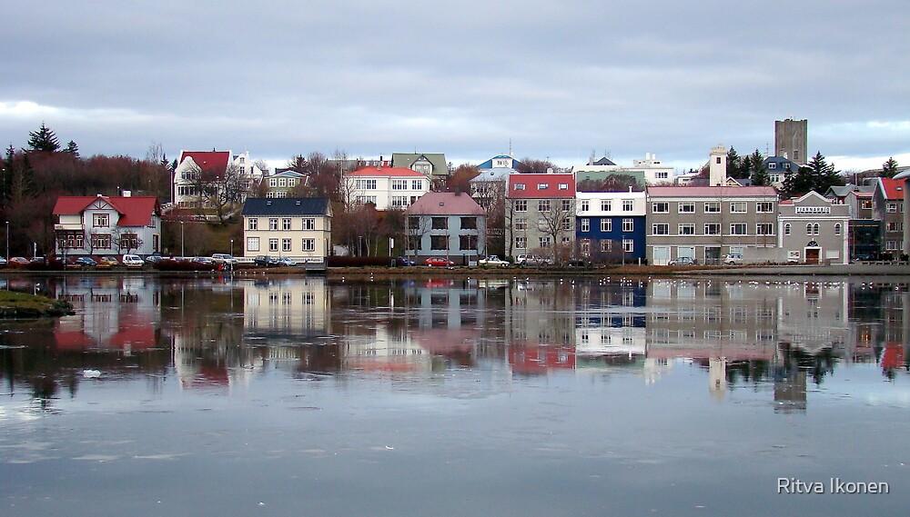 Reykjavik Reflections by Ritva Ikonen