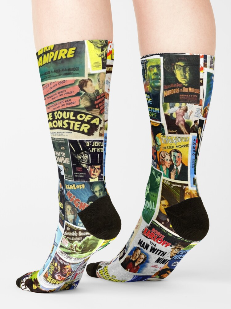 Alternate view of Vintage Horror Socks