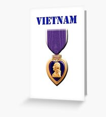 Purple Heart - Vietnam Greeting Card