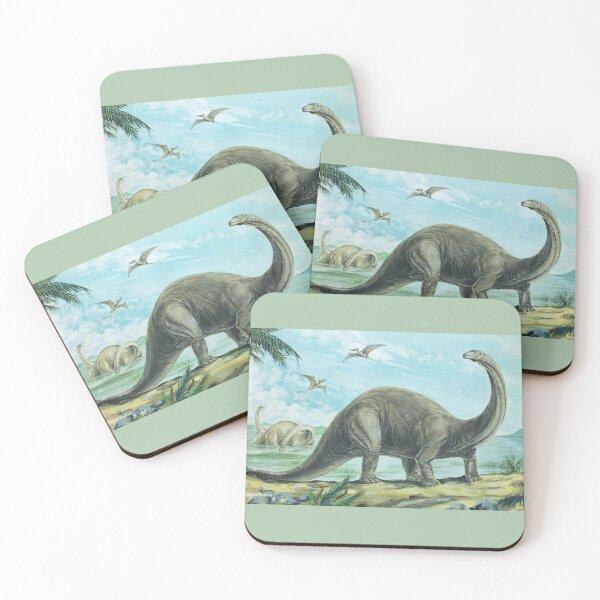Brontosaurus Coasters (Set of 4)