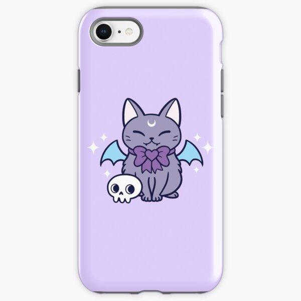 Black Bat Kitten 01 iPhone Tough Case