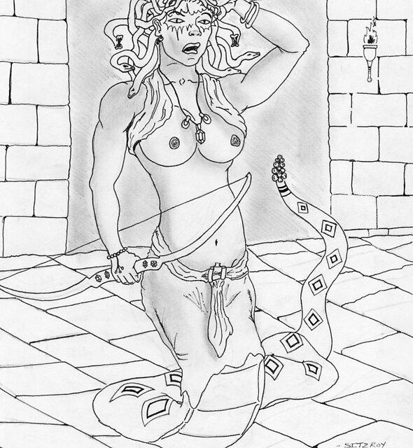 Medusa by Sitzroyclark