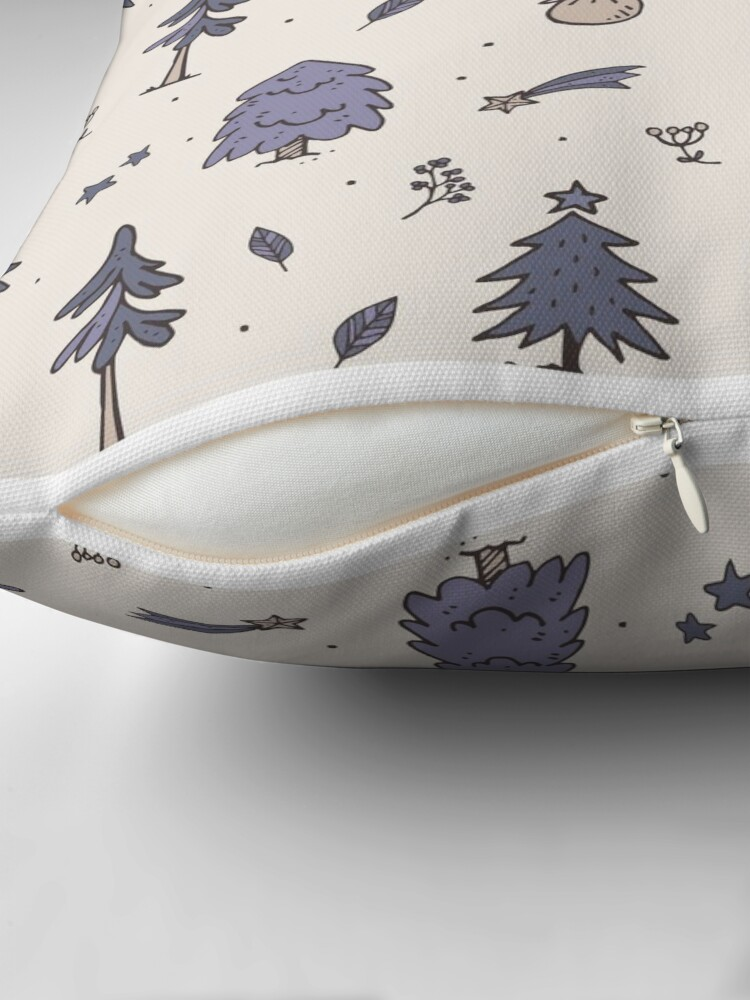 Alternate view of Winter Christmas Throw Pillow