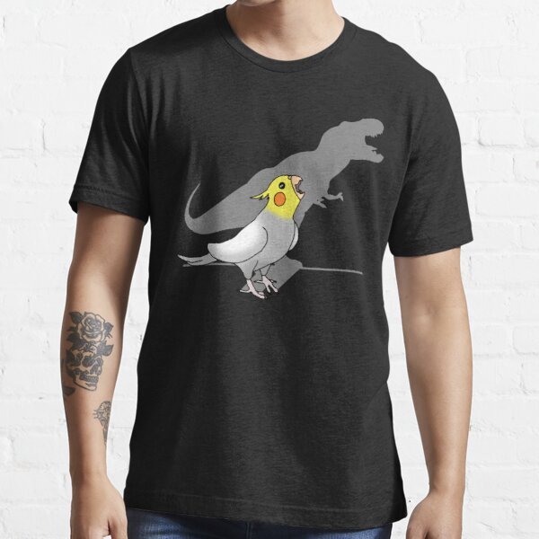 dinosaur shadow - cockatiel 2 Essential T-Shirt