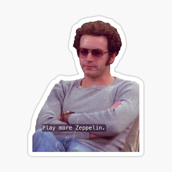 Hyde from that 70s show Sticker