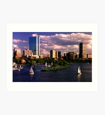 From Longfellow Bridge Art Print
