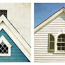 cape cod rooftops by lucy loomis