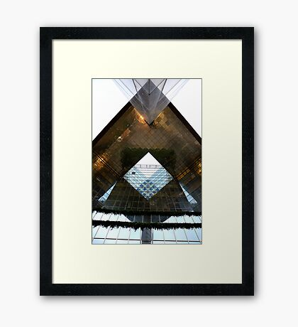 The Stone Cutters! Framed Print