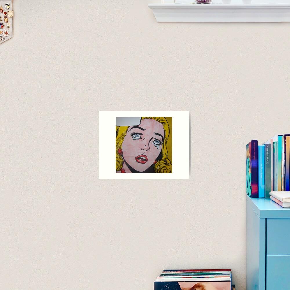 Cry 22 Art Print