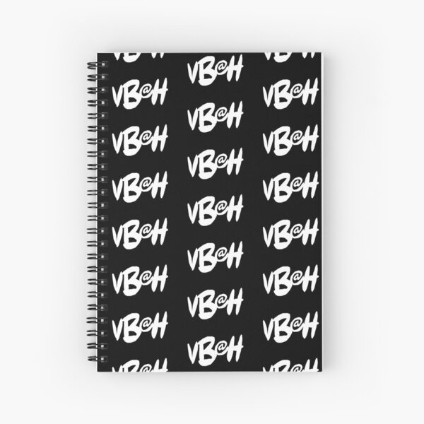 VBAH Logo Pattern Spiral Notebook